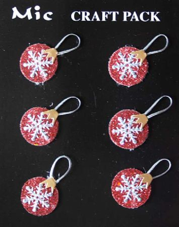 Christmas Baubles Toppers